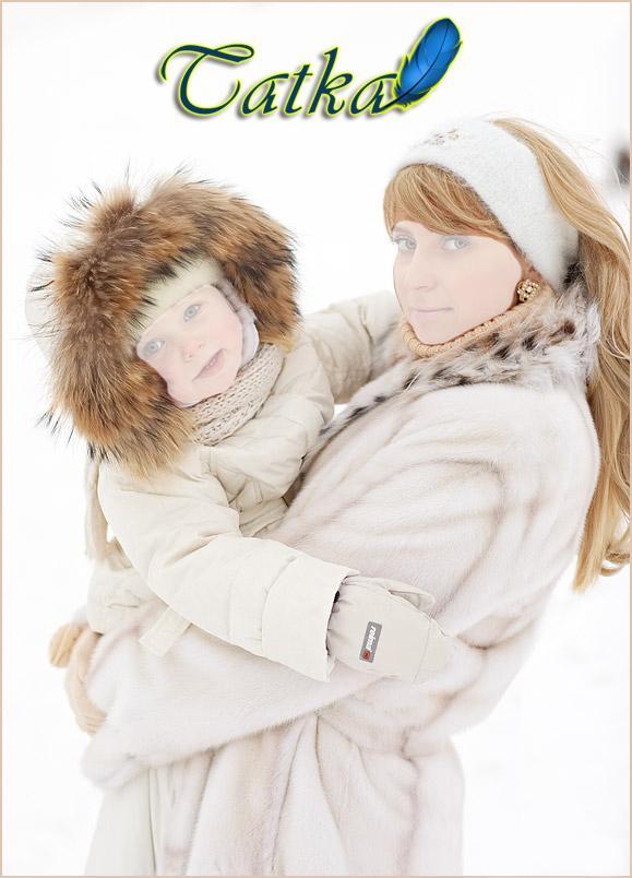 Картинки мама с сыном зима